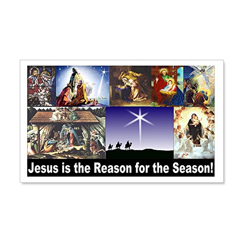 CafePress - Christmas Nativity Medley - 20x12 Wall Decal, Vinyl Wall Peel, Reusable Wall Cling