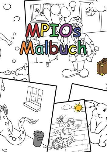 MPIOs Malbuch: Tiere, Drachen, Meerjungfrauen & Co.