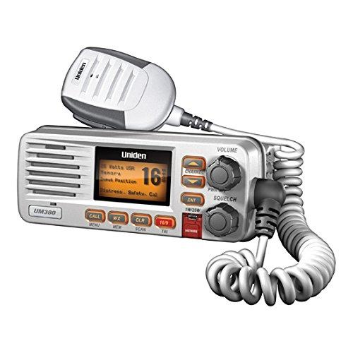 Uniden Class D Dsc Fixed Mount Marine Radio White Waterproof