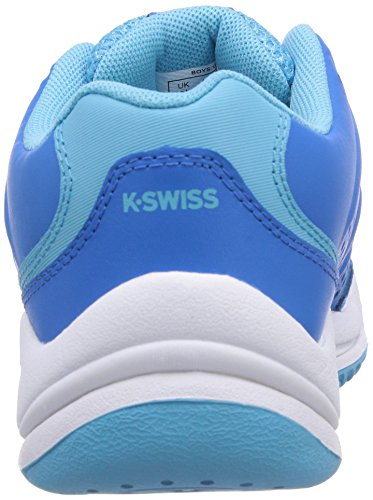 K-Swiss Performance KS TFW ULTRASCENDOR OMNI Unisex-Kinder Tennisschuhe Blau (BLUEASTER/BACHELORBUTTON/WHITE)