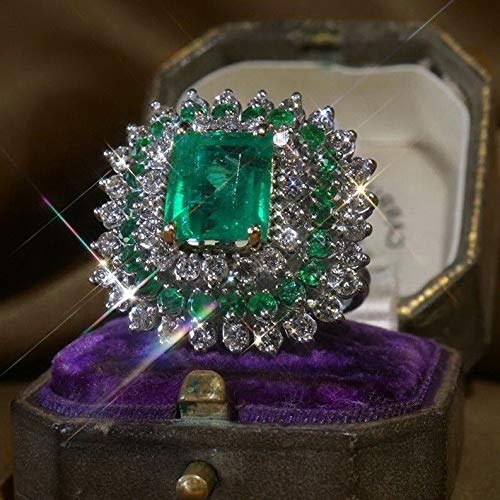 Endicot 925 Silver Sapphire Amethyst Gemstone Turquoise Fashion Gift Wedding Ring Sz6-10 | Model RNG - 18680 | 8