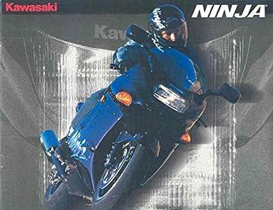Amazon.com: 1995 Kawasaki Ninja ZX11 1000 ZX7 750 ZX6 600 ...