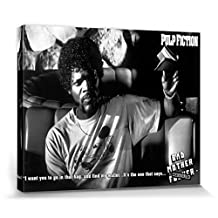Pulp Fiction Stretched Canvas Print - Find My Bad Mother F..ker Wallet (20 x 16 inches)