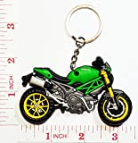 Ducati Keychain Motorcycles Bag Keychain / Rubber Key Holder Motorbike key ring Collectibles Souvenirs Gifts by Magic movement