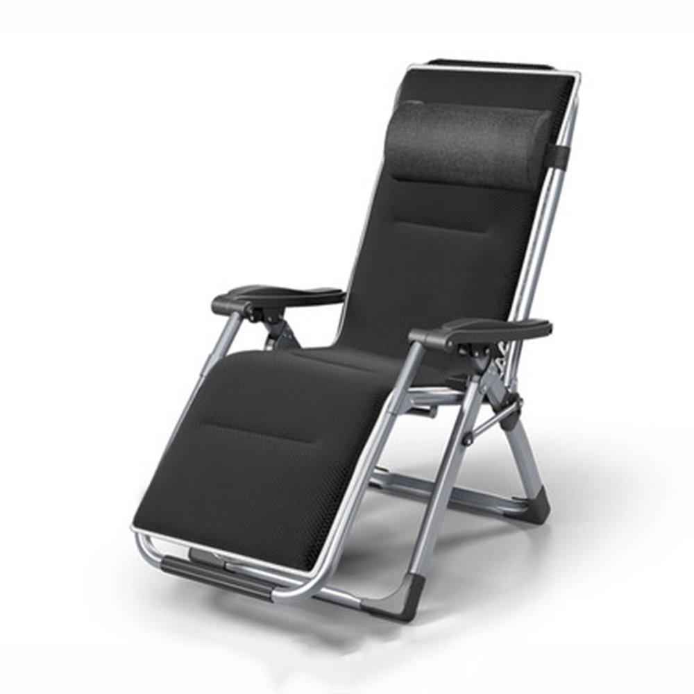 QFFL 個々のシエスタシンプルな折りたたみチェア/オフィスシエスタのリクライニング/妊娠中の女性ラウンジチェア/家庭用バルコニーガーデン快適な背もたれの椅子 アウトドアスツール (色 : B) B07F878CMJ  B