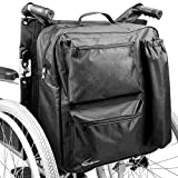 Multifunction Wheelchair Bag   Mobility Scooter Universal Backpack   Padded Rear Multi - Pocket High Quality Waterproof Storage   M&W