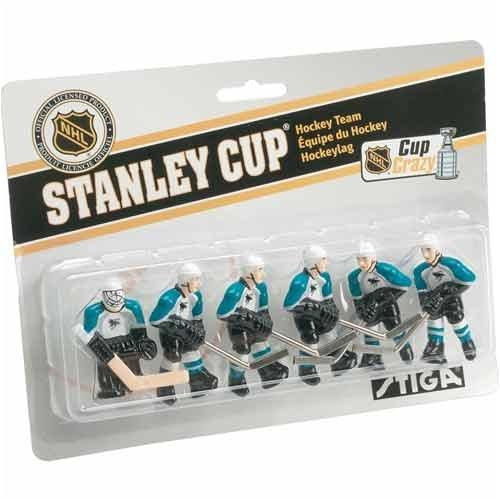 Stiga San Jose Sharks Table Rod Hockey Players – DiZiSports Store