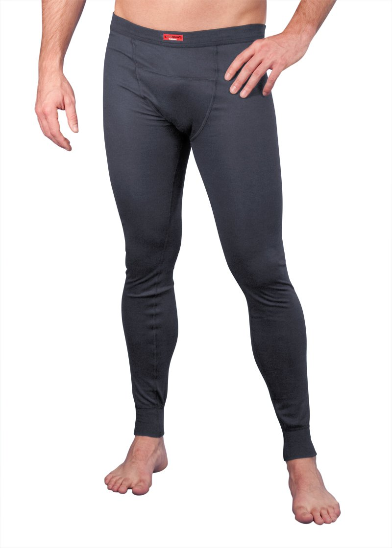 Blackspade Thermal Men Long Pants anthrazit - Lange Herren Ski- & Thermounterhosen von Blackspade