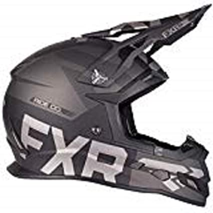 a23413bd Amazon.com: FXR Boost Evo Snowmobile Helmet (Black Ops Matte, 2X):  Automotive