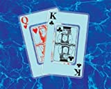 GAME 4360 Waterproof Playing Cards Athletics, Exercise, Workout, Sport, Fitness