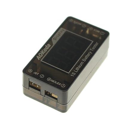 Amazon.com: UUMART AOKoda Lipo a USB convertidor de ...