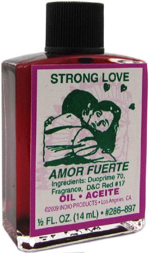 Indio Products Strong Love Oil 1/2 fl. oz.