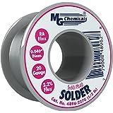 MG Chemicals 60/40 Rosin Core Leaded Solder, 0.04″ Diameter, 1/2 lbs Spool