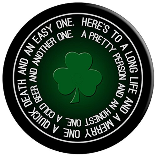 Lucky Shamrock Clover St. Patrick's Day Irish Toast - PopSockets Grip and Stand for Phones and Tablets by Mix Web Shop (Image #2)