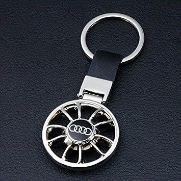 Amazon.com: champled emblema de AUDI llavero llavero Logo ...