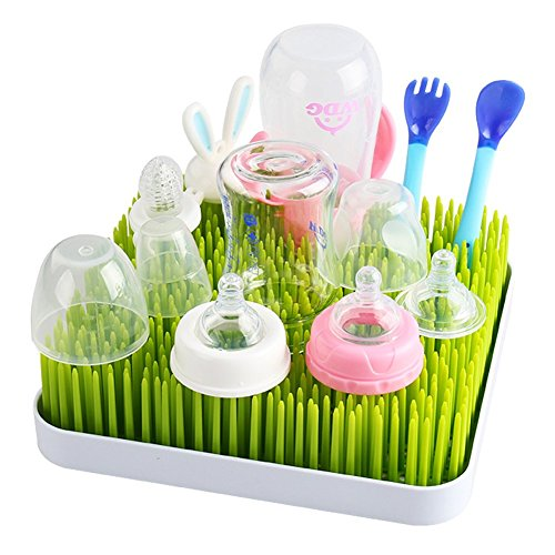 Kalinco Drying Rack Grass for Baby Bottle, Infant Dishes and