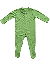 Footies - Baby Footed Pajamas Made of Soft Organic Bamboo...