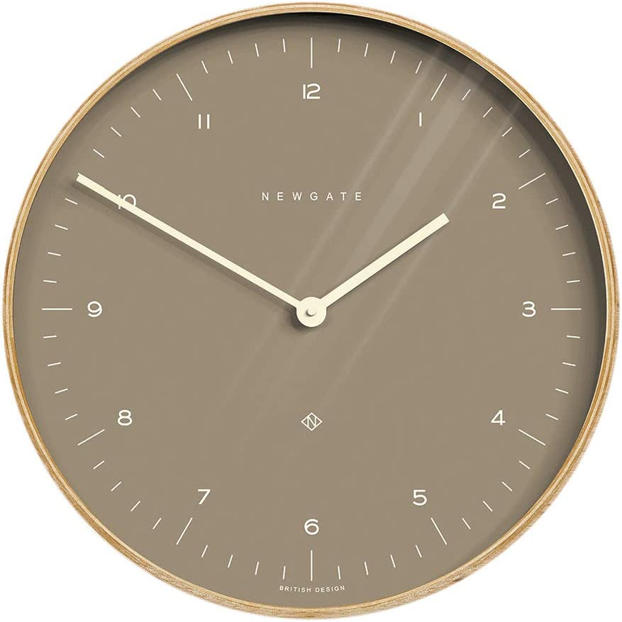 Newgate-Clocks Mr Clarke Wall Clock - 40cm - Burnt Sienna Dial