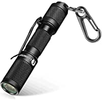 LUMINTOP TOOL AAA Mini EDC Flashlight, Pocket-Sized Keychain Flashlight, Super Bright 110lm Cree LED, 3 Modes, IP68 Waterproof, Best Tools for Camping, Hiking, Hunting, Backpacking, Fishing and EDC