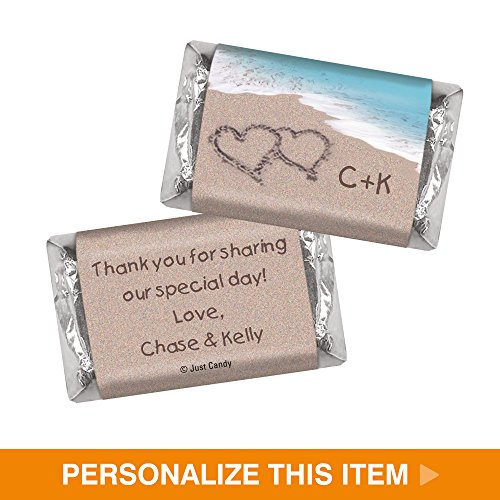 Candy Wedding Favors - Custom HERSHEY'S MINATURES (50 Count)