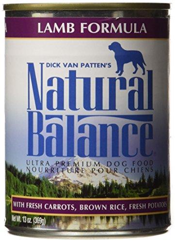 Natural Balance 13 oz Ultra Premium Lamb Formula Canned Dog