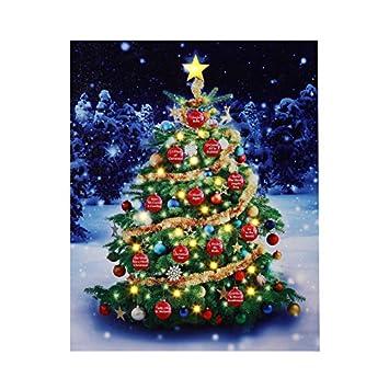 Amazon.com: Mr. Christmas Musical Illuminart Ornament Tree Art ...