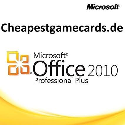 ms office 2010 professional plus key