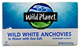 Wild Planet, Wild Anchovies in Water,  4.4 Ounce (Pack of 12)