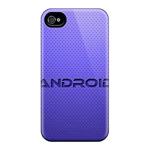 Snap-on Case Designed For Iphone 4/4s- Android