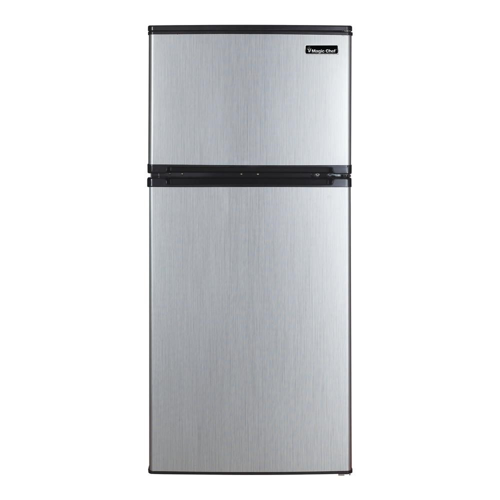 Magic Chef Magic Mountain Water Products Presents the 4.3 Cu Ft Two Door Mini Refrigerator (The Big Mini) HVDR430SE