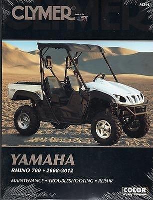 2011 Yamaha Snowmobiles - 2008-2012 CLYMER YAMAHA RHINO 700 SIDE BY SIDE ATV SERVICE MANUAL NEW M291