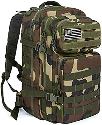dbe0615379e5 MEWAY 42L Military Tactical Backpack Large Assault Pack 3 Day Army  Rucksacks Molle Bug Out Bag Outdoors Hiking Daypack Hunting Backpacks