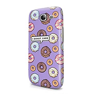 I Donut Care Pixel Bubble Donuts Pattern Tumblr Print Hard Plastic Samsung Galaxy S3 Phone Case Cover