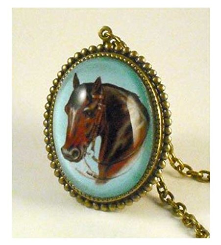 Horse (Vintage Costume Jewelry Images)