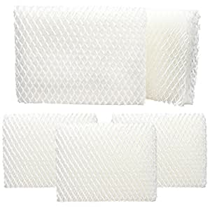 5-Pack Replacement MoistAir HD1200 Humidifier Filter - Compatible MoistAir HDC12 Air Filter