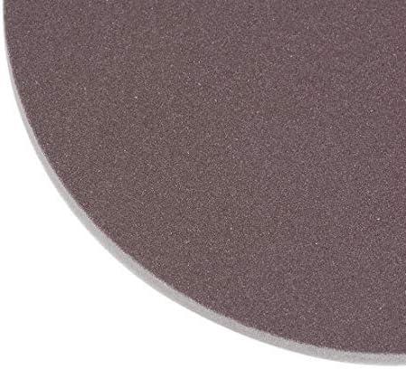 4-inch sanding hook and loop sanding loop wet//dry for cars Wood Gypsum board Metal Brown Corundum 500-600 Grain 6 pieces