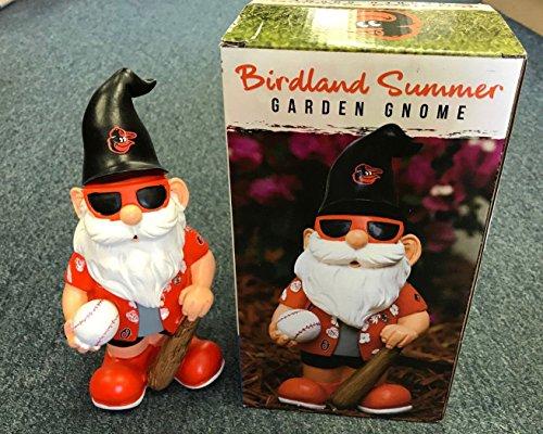 Oriole Garden (2018 Baltimore Orioles SGA Birdland Summer Garden Gnome Hawaiian Shirt)