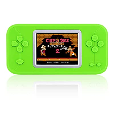 DREAMHAX Pocket Game Pad with 246 Games Hand-held Game Console with Color Screen and Cute Candy Color Case Classic Retro Video Games Console for Children Kids Boy Girl: Toys & Games [5Bkhe1105804]