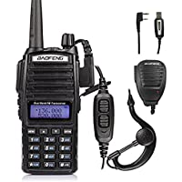 Baofeng Pofung UV-82L 136-174/4​​00-520MHz Ham Two-way Radio + Cable&CD + Speaker