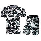 XieHouMeiYiTian Men's Sports Shock Rash Guard Compression Padded Shirt Soccer Basketball Protective Gear Chest Rib Guards
