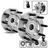 #5: For Chevy Silverado Suburban | GMC Sierra Yukon 515058 Pair of 8-Bolt Front Wheel Hub and Bearing Assembly W/ABS