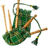 Kids Bagpipe Miniature Playable Bagpipe with Reed