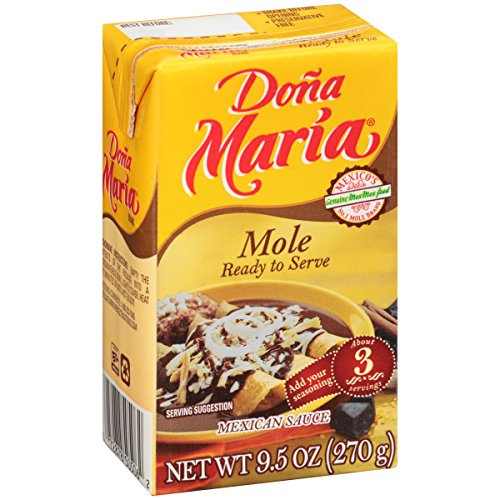 (Pack of 2) Dona Maria Mole Sauce Ready To Serve 9.5 Oz Tetra Pak (Pack of 2)