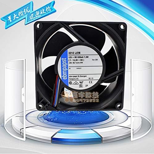 REFIT for EBMPAPST 3212J//2N DC12V 7.6W 9238 9CM cm Cooling Fan