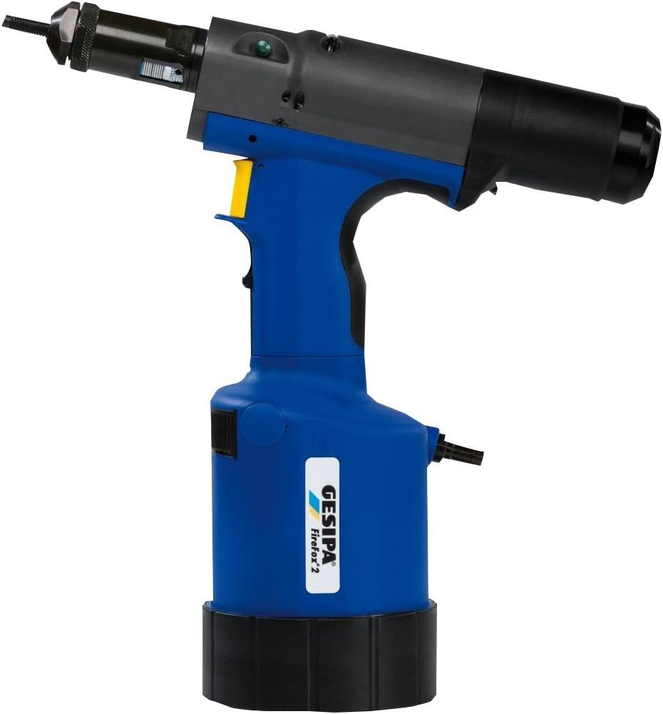 1458086 Blindniettechnik 1 St/ück, Inklusive Gewindedorne und Mundst/ücke f/ür M4-M8 mm Gesipa Blindnietmuttern-Setzgeraet FireFox 2