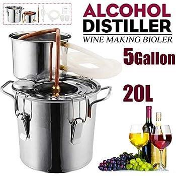 Amazon.com: Destilador casero de 3 galones, 12 litros ...