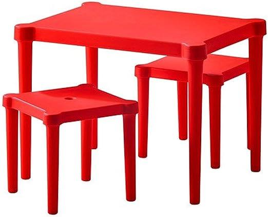 Ikea Lätt de Malla Mesa Infantil con 2 sillas para Interior y ...