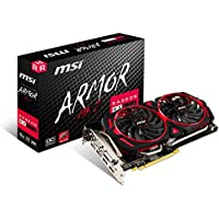 MSI Radeon ARMOR MK2 8G OC 8GB 256-Bit GDDR5 PCI Video Card + AMD Gift