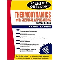 Schaum's Outline of Thermodynamics With Chemical Applications (Schaum's Outline Series)