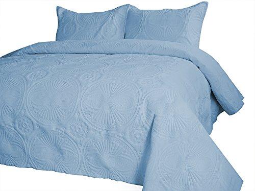 UPC 612677213814, Merryfeel Extra Lightweight Oversized Bedspread Coverlet Set-Twin
